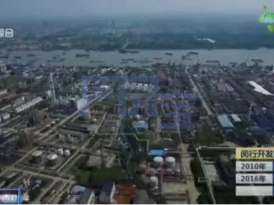 松江工业区航拍